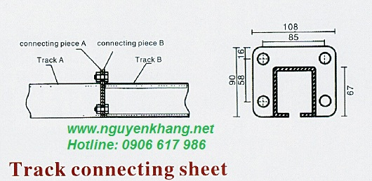 Past ray - Miếng nối ray